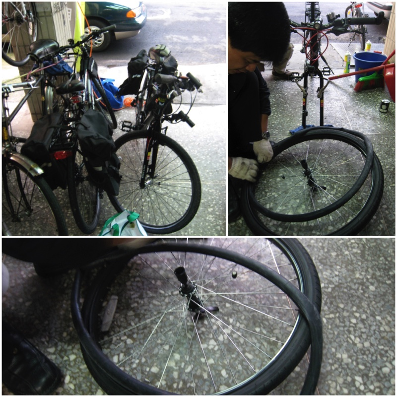 image showing how to replace an inner tube