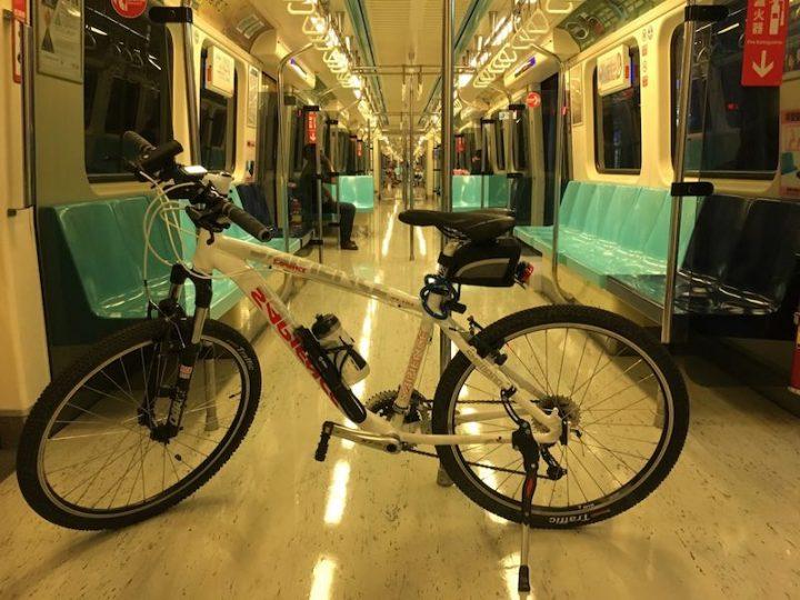 Ride with Your Bike on Taipei Metro