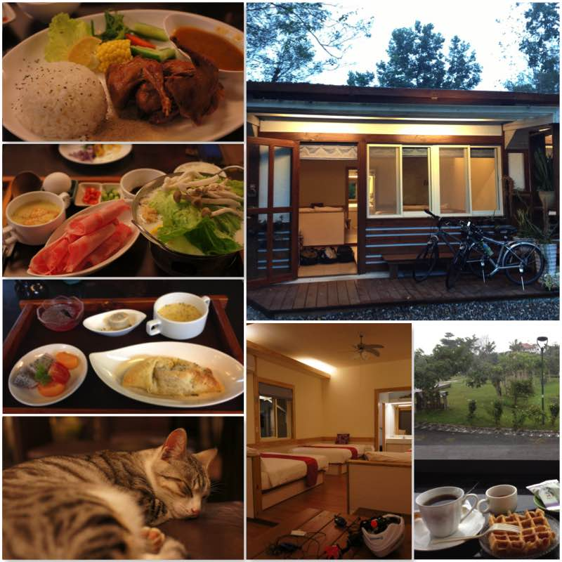Image grid showing the rooms of QianCaoYuan and the dinner sets they served.