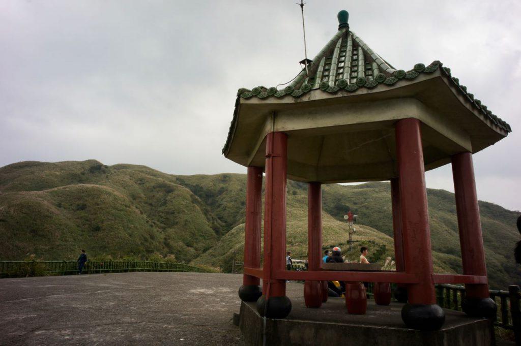 pavilion on a hill