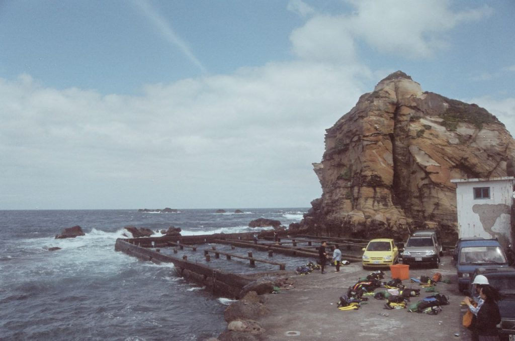 Diving Site on Coast