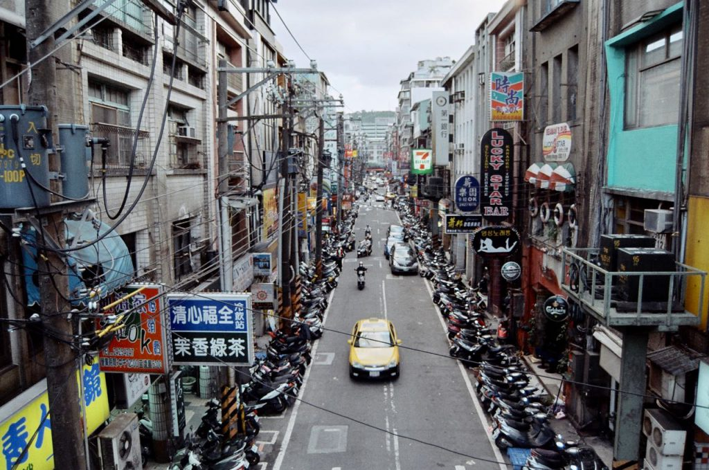 Street of Kee Lung