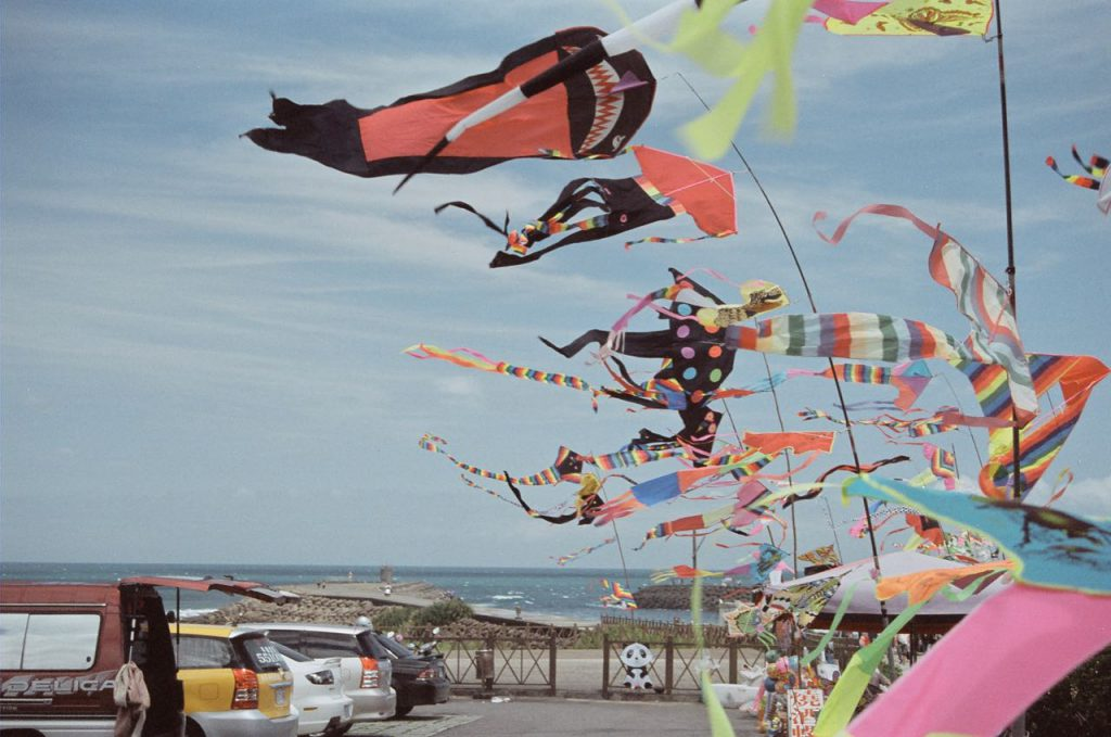 Flying kites to be sold