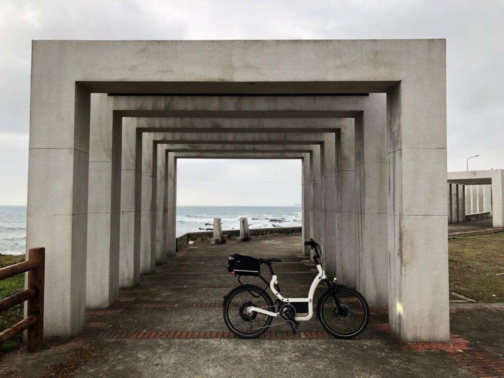 E-Bike on bikeway
