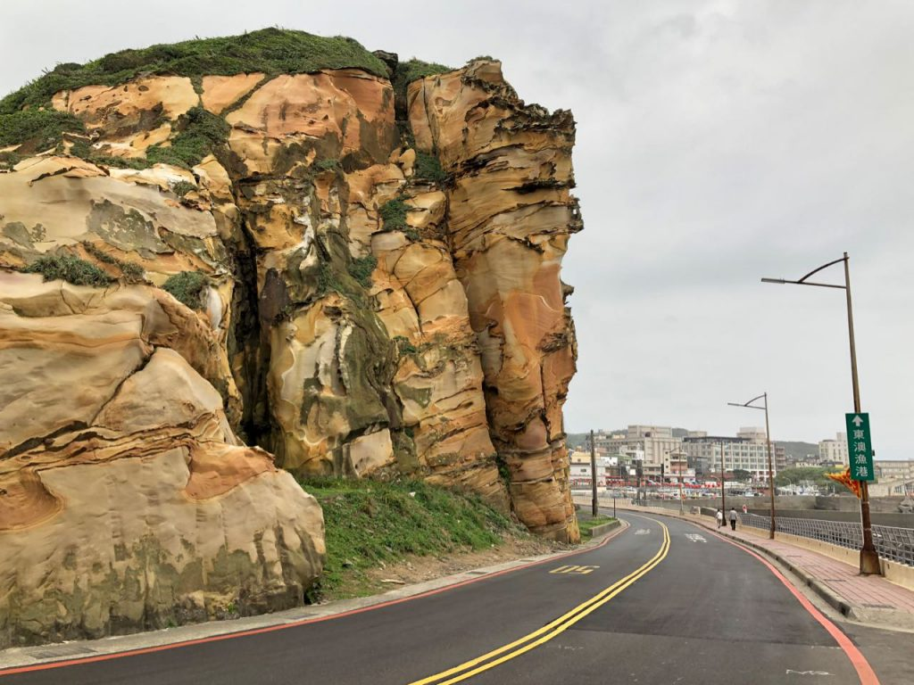 Colourful Rock in Wanli