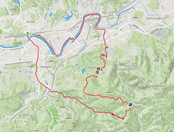 Cycling Route: Xizhi Pigeon – Climb Training